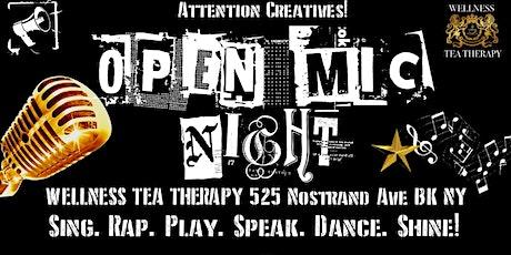 Open Mic Saturdays tickets