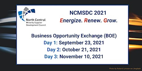 Days 2&3: NCMSDC 2021 Business Opportunity Exchange (BOE) Registration tickets