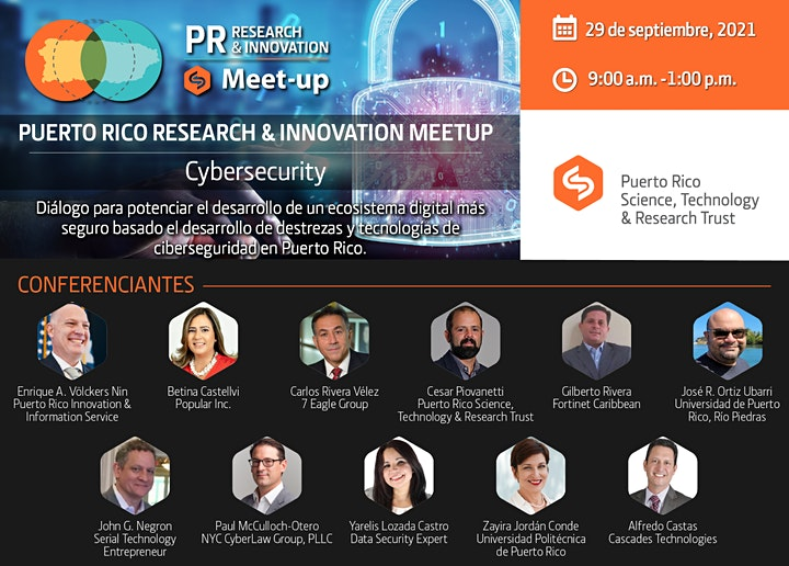 Research & Innovation Meetup: Cybersecurity image