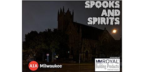 AIA Milwaukee Spooks and Spirits Tour tickets