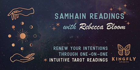 Samhain Tarot Readings with Rebecca Bloom tickets
