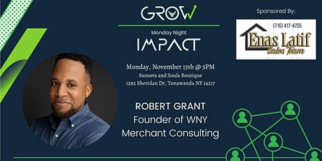 Monday Night Impact: Robert Grant (In-Person) tickets