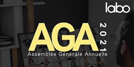 Assemblée Générale annuelle du Labo - 2021 billets