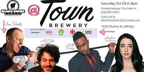 Black Sheep Comedy @ Town Brewing Co. Featuring Ian Sirota tickets