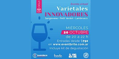 Ciclo Varietales Innovadores OCTUBRE entradas