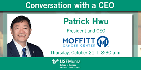 Conversation with a CEO: Dr. Patrick Hwu tickets