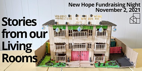 Stories from our Living Rooms 2021: New Hope Fundraising Night tickets