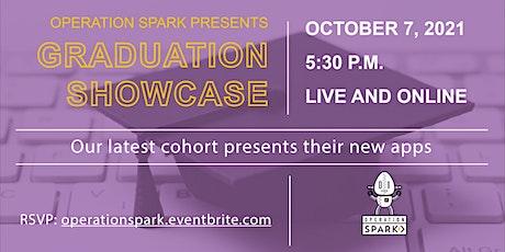 Operation Spark | Cohort Q Graduation Showcase | October 7 tickets