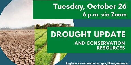 Drought Update & Conservation Resources tickets