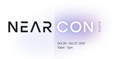 NEAR|CON Alpha 2021 First Edition bilhetes