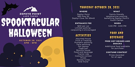 Zephyr Point's Spooktacular Halloween tickets