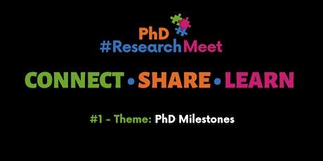 PhD ResearchMeet #1 tickets