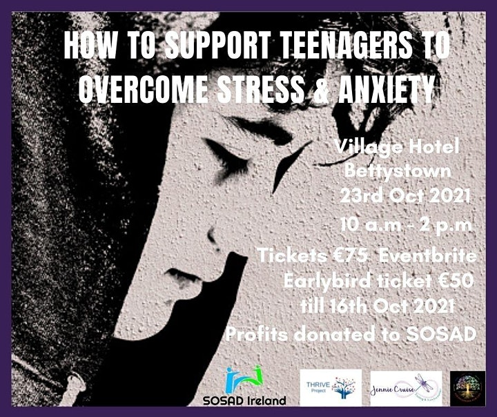 How to support teenagers to overcome Stress & Anxiety image