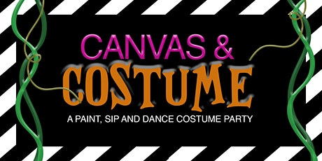 Canvas & Costume: A Paint, Sip and Dance Costume Party tickets