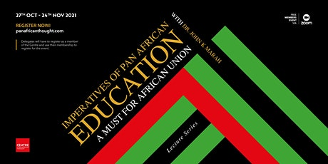 Imperatives of Pan African Education tickets