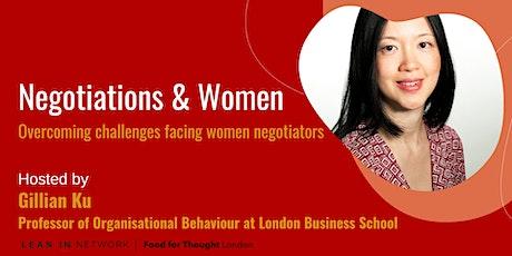 Negotiations and Women with Professor Gillian Ku biljetter