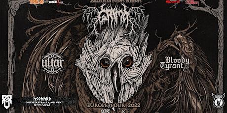Grima • Ultar • Bloody Tyrant - Europe Tour 2022 tickets