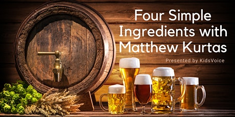 Four Simple Ingredients with Matthew Kurtas | A Free KidsVoice Event tickets