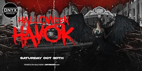 Halloween Havok October 30th tickets