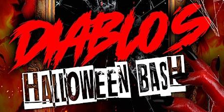 Diablo's Halloween Bash October `29th tickets