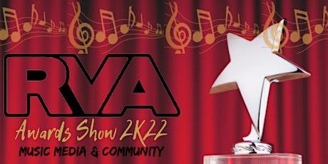 RVA Awards Show 2K22 tickets