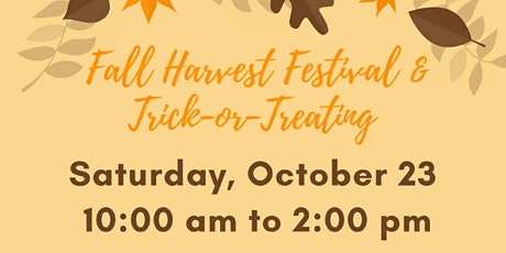 Fall Harvest Festival & Trick-or-Treating tickets