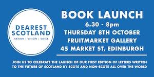 Dearest Scotland Book Launch: Celebrating Letters...