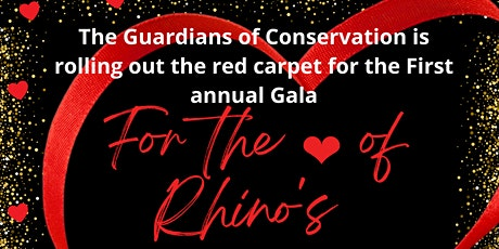 For the Love of Rhino Gala tickets