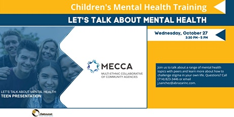 Let's Talk About Mental Health: Teen Presentation tickets