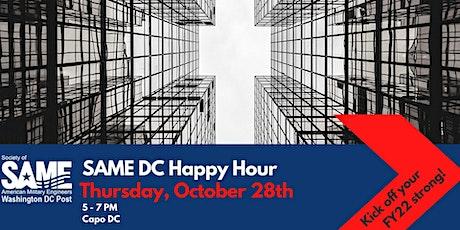 SAME DC October Happy Hour tickets