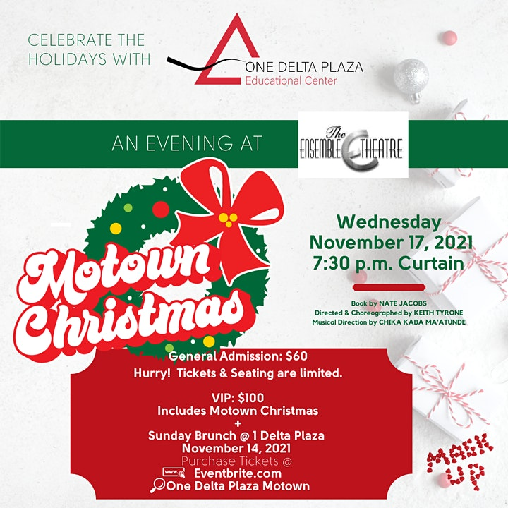 An Evening at The Ensemble Theatre: Motown Christmas image