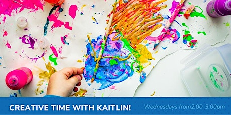 Creative time with Kaitlin! (Virtual program) tickets
