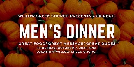 WCC Men's Dinner tickets