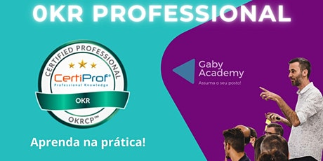 Certificação Internacional OKR Coach | OKRCP bilhetes