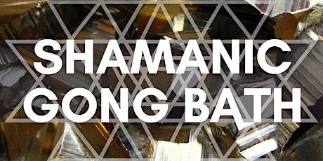 Shamanic Gong Bath tickets