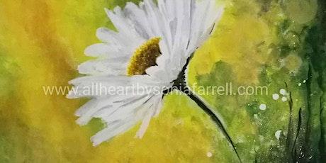 'Daisy Mist' Art Experience with Sonia Farrell: Creative Hearts Art tickets