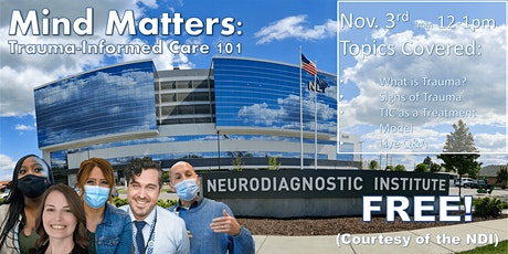 Mind Matters: Trauma-Informed Care 101 tickets