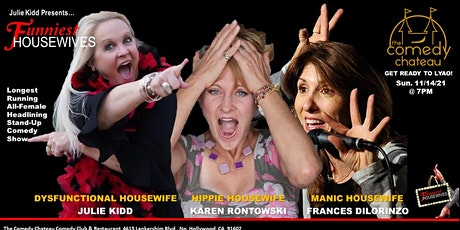 Funniest Housewives the Comedy Chateau tickets