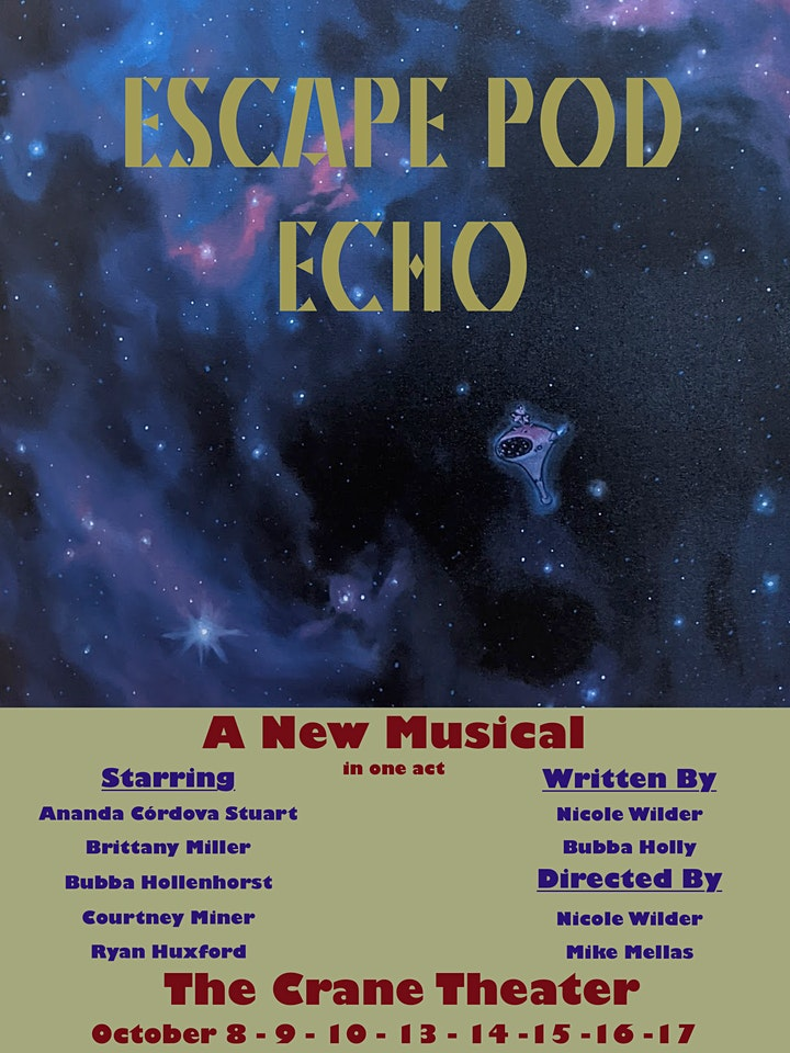 Escape Pod Echo - A New Musical in One Act image