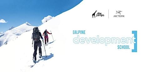 SheJumps Alpine Development School 2021 tickets