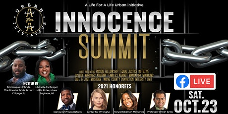 A Life for A Life Urban Initiative Innocence Summit tickets