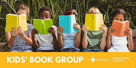 Kids' Book Group Online tickets