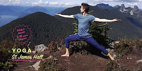 Yoga Class - St James Hall - Kitsilano tickets