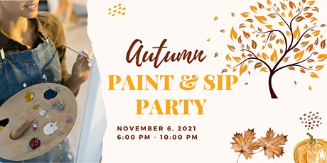 Autumn Snack, Sip & Paint Party tickets