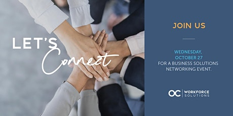 Business Solutions Networking Event tickets