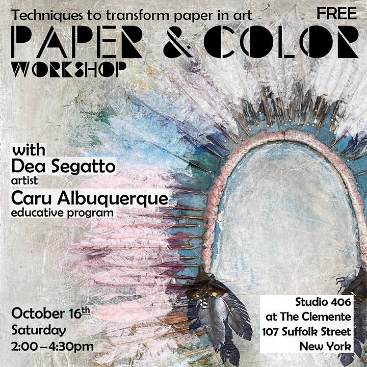PAPER & COLOR - Collage Techniques with Dea Segatto image