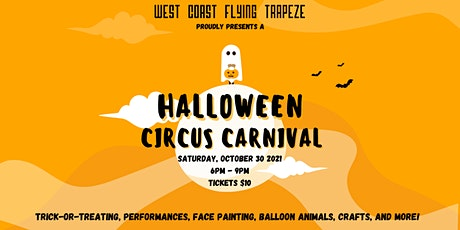 West Coast Flying Trapeze Proudly Presents A Halloween Circus Carnival! tickets