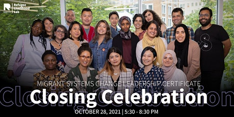 Migrant Systems Change Leadership Certificate Closing Celebration tickets