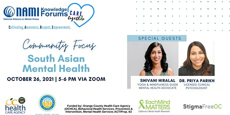 C.A.R.E. Together - Community Focus: South Asian Mental Health tickets