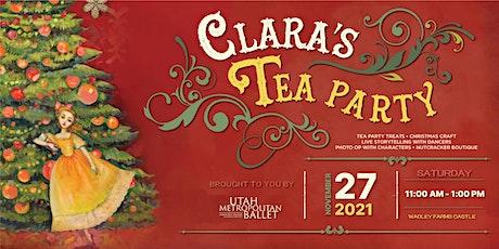 CLARA'S TEA PARTY tickets